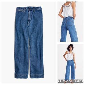Madewell Emmett Wide Leg Jeans